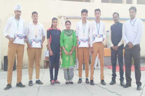 INTER SCHOOL COMPETITION WINNERS